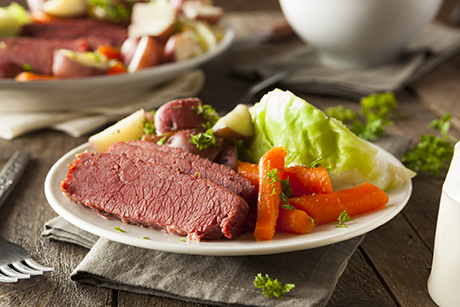 Beef cabbage and potatoes pair perfectly for St. Paddy's
