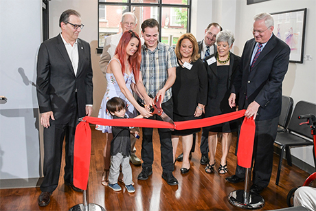 HCLV ribbon cutting
