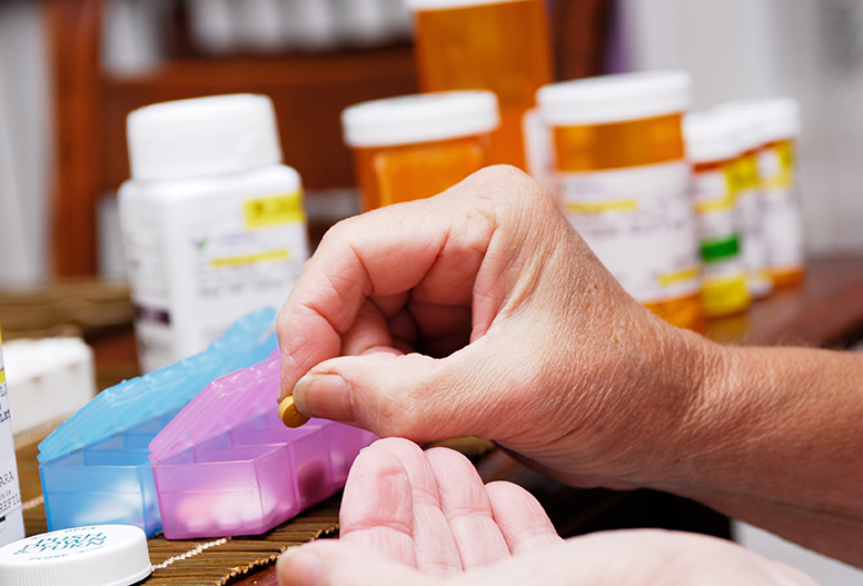 Medications through mail order pharmacy
