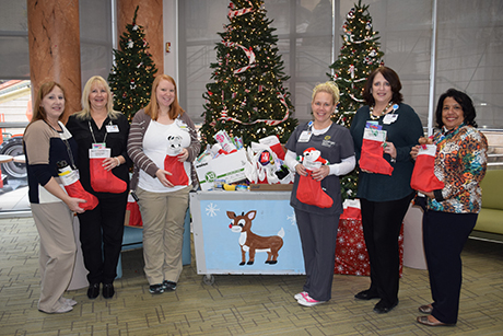 Geisinger Health Plan donates holiday stockings to patients