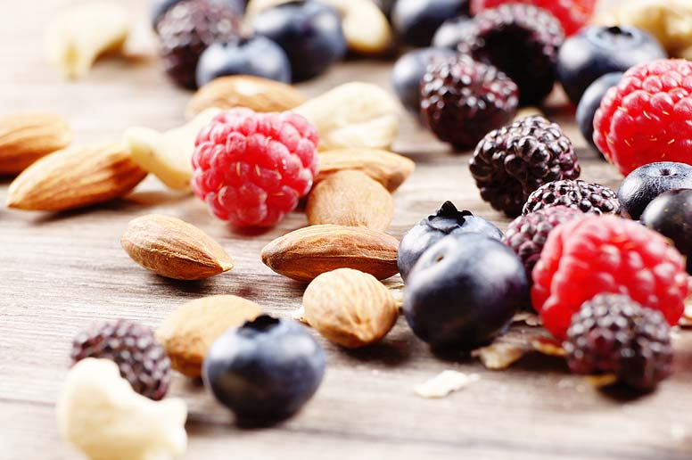 Nuts and berries