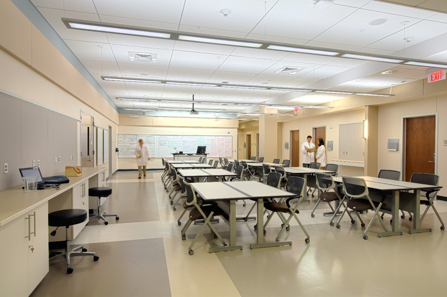 Geisinger Commonwealth School of Medicine Clinical Skills and Simulation Center Classroom