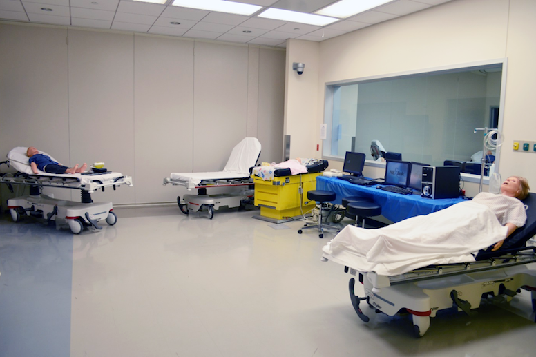 Geisinger Commonwealth School of Medicine Clinical Skills and Simulation Center Family Centered Care Bay