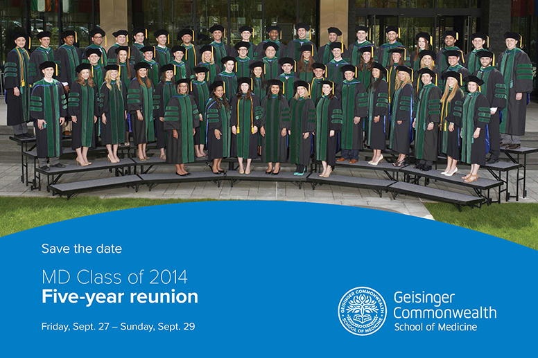 MD Class of 2014 five-year reunion save the date