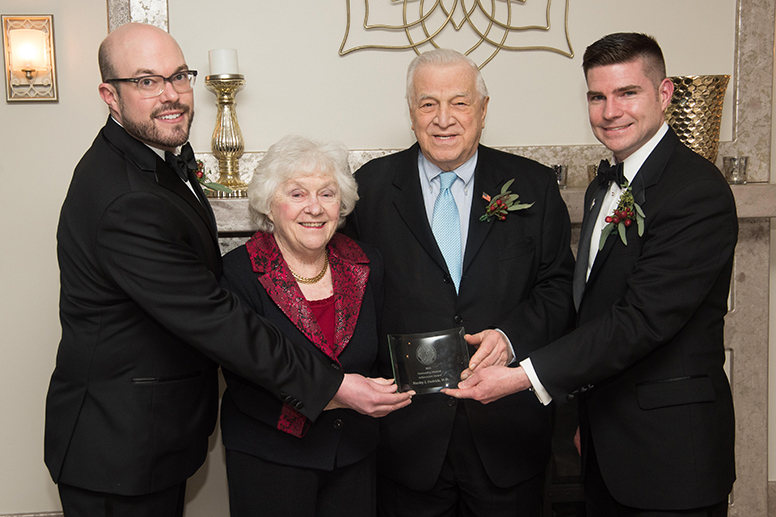 Dudrick honored by Lackawanna County Medical Society