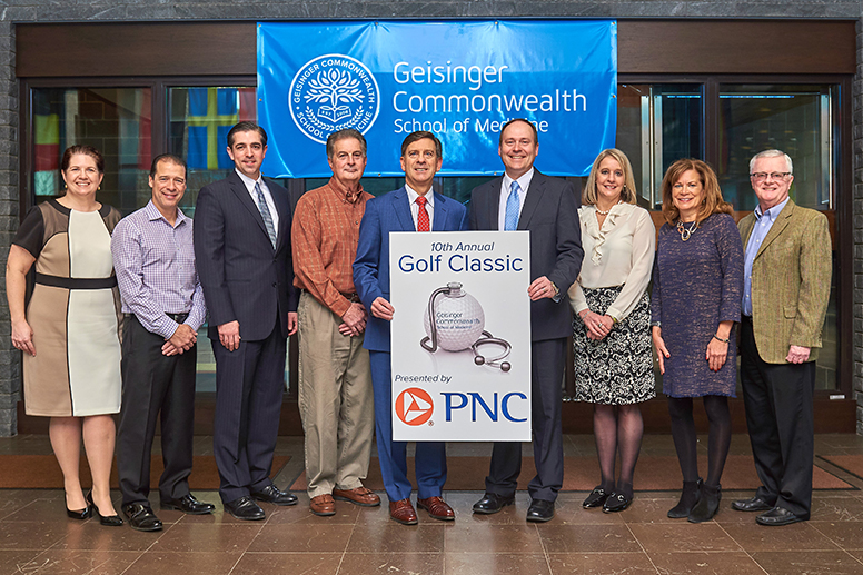10th annual Geisinger Commonwealth School of Medicine golf committee