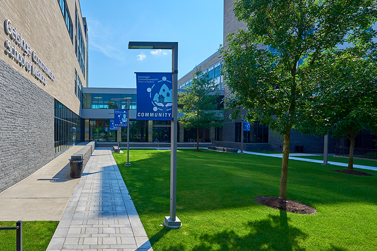 Geisinger Commonwealth School of Medicine - North Campus Medical Sciences Building Walkway
