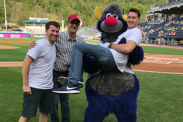GCSOM Student Musculoskeletal Society community outreach: Big Brothers Big Sisters RailRiders game - Sept. 1, 2018