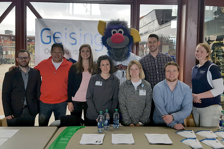 GCSOM Student Musculoskeletal Society community outreach: Geisinger Musculoskeletal Institute (MSKI) National Park Rx Day - April 29, 2018