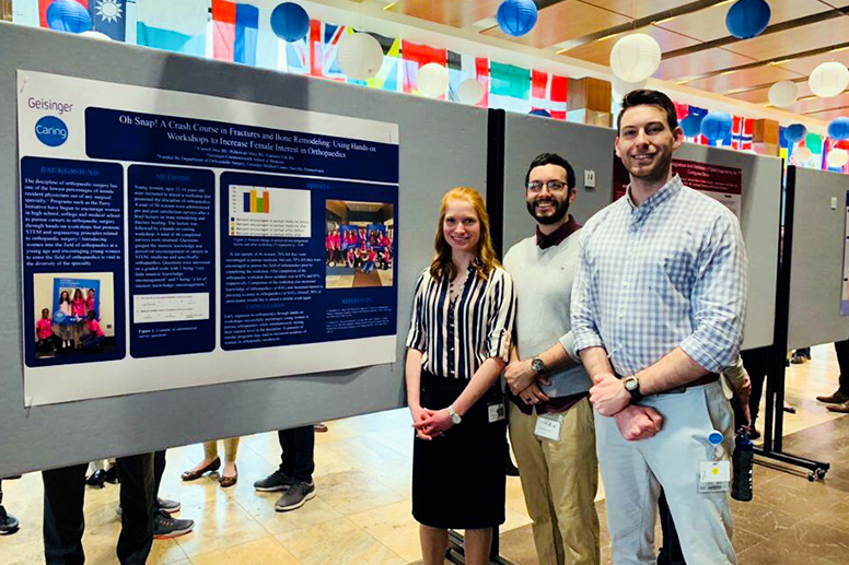 Student Musculoskeletal Society research