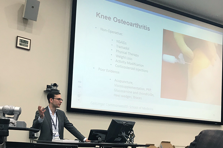 GCSOM Student Musculoskeletal Society: Osteoarthritis and Total Knee Replacements with Dr. Mercuri (Jan. 9, 2019)