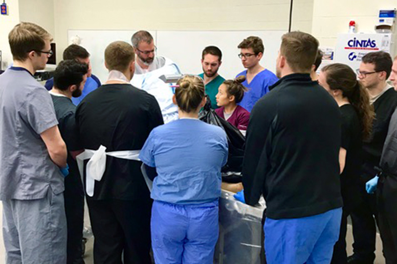 GCSOM Student Musculoskeletal Society: Surgical Techniques with Dr. Lynott (Jan. 29, 2019)