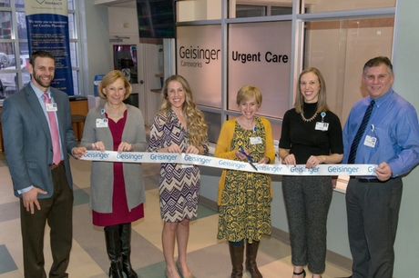 Geisinger ribbon cutting at new Careworks at Kistler Clinic