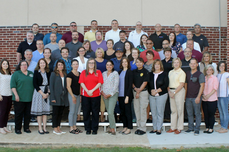 The Health Care Leadership Class at the Center for Domestic Preparedness in July 2018