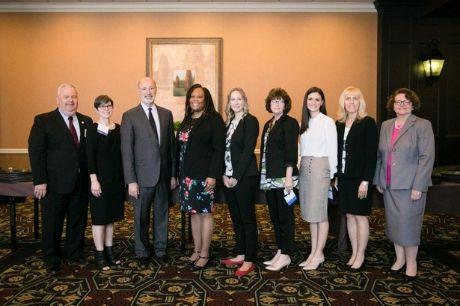 Pennsylvania Gov. Tom Wolf honors Geisinger for its commitment to a diverse workforce.