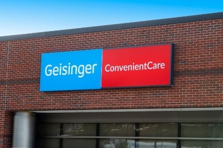 Geisinger ConvenientCare sign.