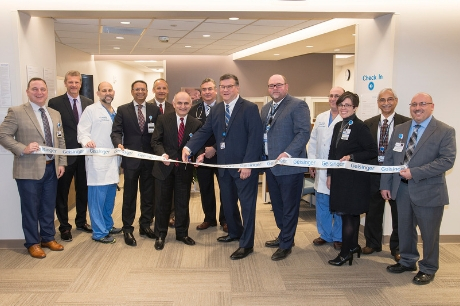 Ribbon cutting for the heart and vascular center at GCMC