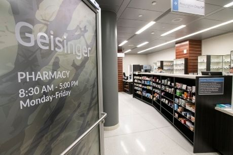 Lobby of the Geisinger Pharmacy at GCMC