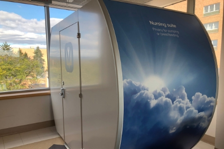 The Mamava installed at Geisinger Holy Spirit