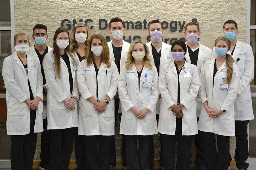 Dermatology residents 2020