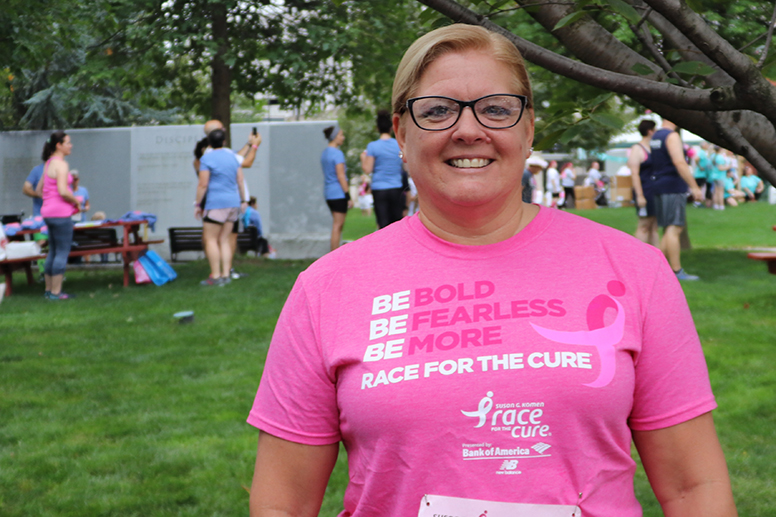 breast cancer survivor geisinger theresa naro