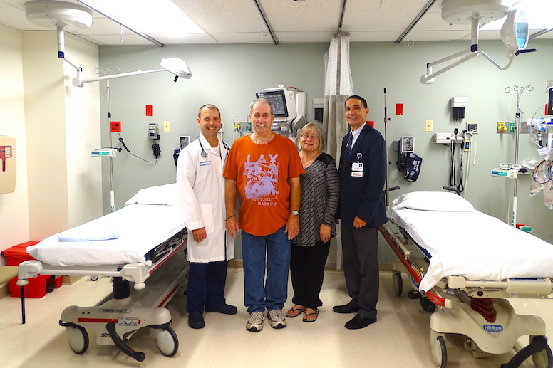 louis powell patient story geisinger emergency medicine