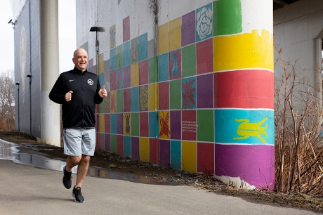 Training For Long Distance Runs While Fighting Colon Cancer Geisinger