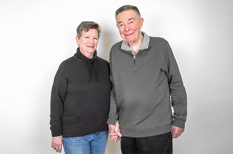 Pat and Bill Webster get back to their lives with his and hers knee replacements.