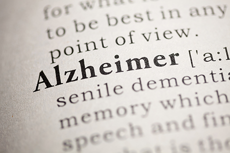 Dictionary definition alzheimer