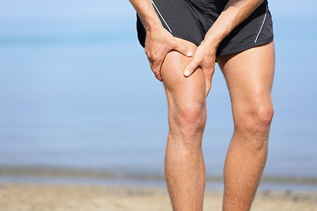 knee pain athlete prp