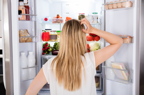 wellness fridge clean sick