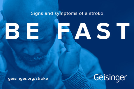 BE FAST when spotting the signs of a stroke.
