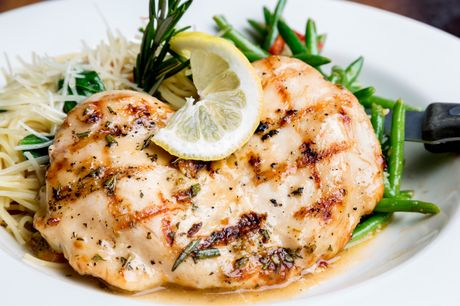 Instant Pot lemon chicken with garlic