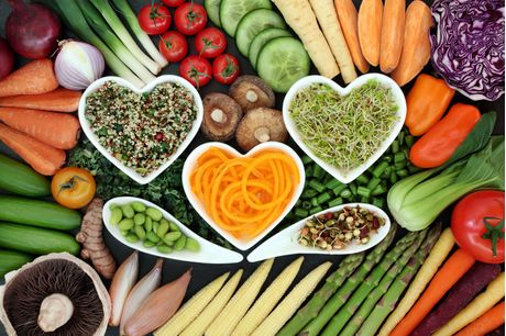 Foods for a heart healthy diet