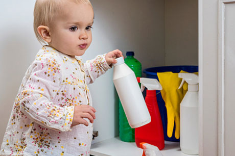 wellness household cleaners kids eat poison