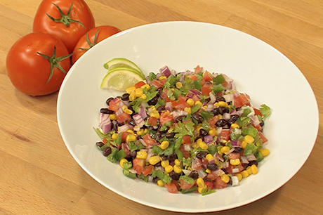 kitchen prescription black bean corn salad