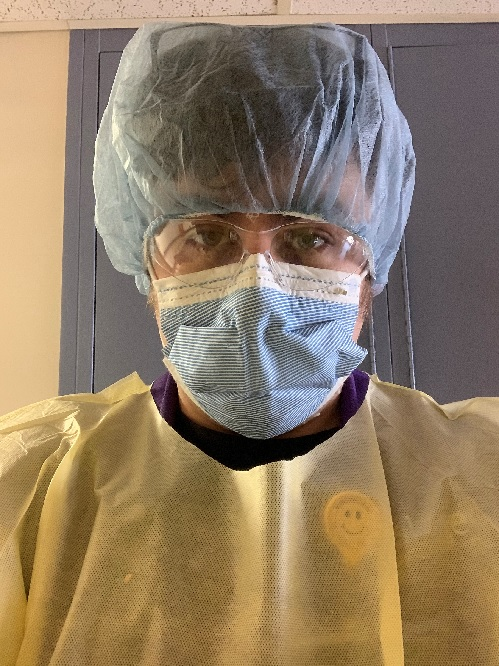 Michael Black, inventory care support assistant at Geisinger Community Medical Center, makes sure patients get wherever they need to go safely.