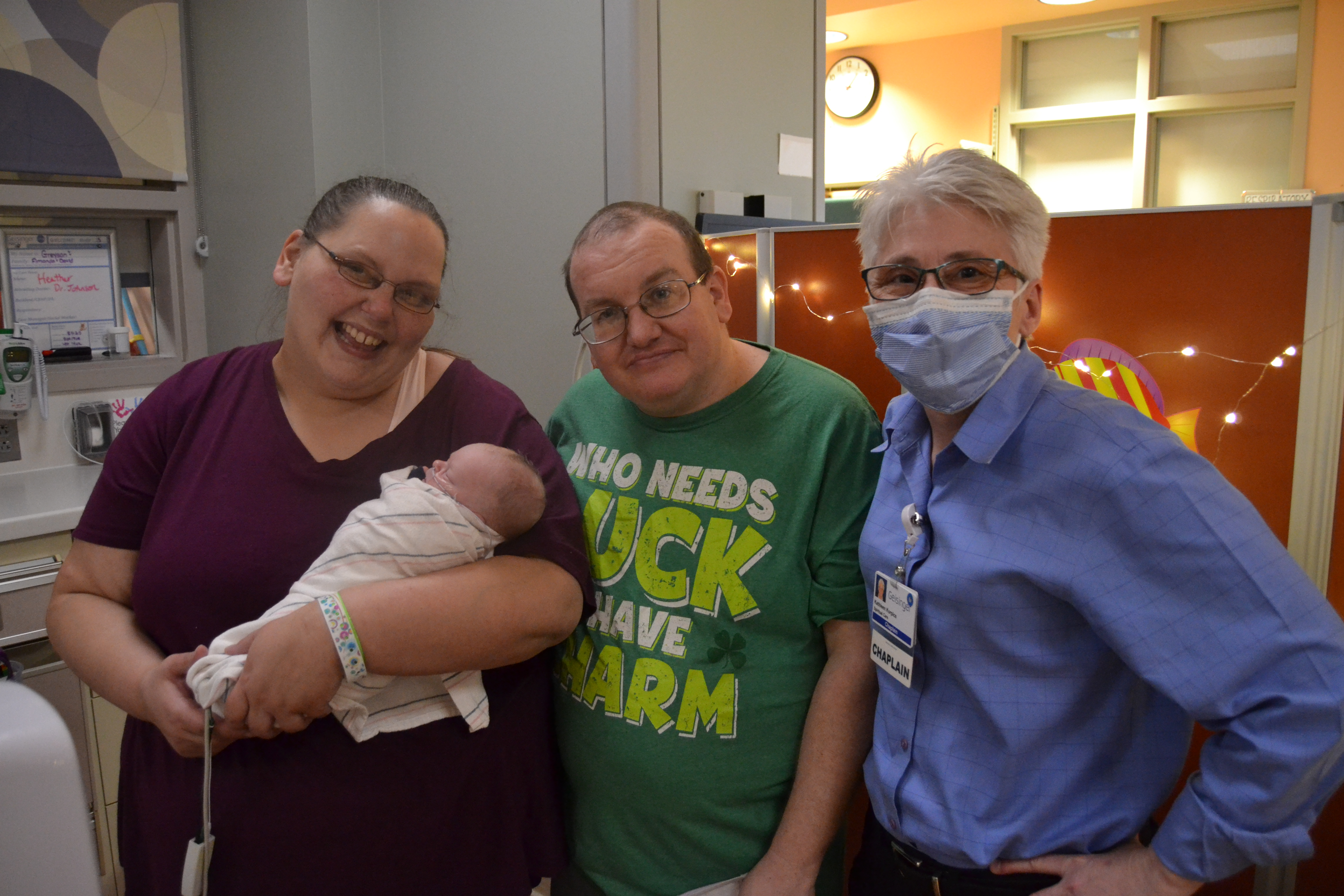 A baptism in the NICU