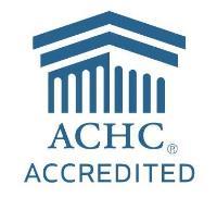 ACHC accreditation seal